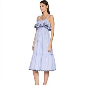 Kate Spade ♠️ daisy embroidered patio dress